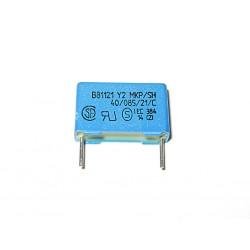 EPCOS - 10 x Condensatore a Film Classe Y2 - 2.5nF 2500pF 250V +/-20%