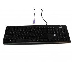 GENIUS KB-06XE - Tastiera Nero Standard PS/2 per PC