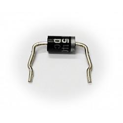 OnSemi - 5 x Diodo Raddrizzatore Assiale Preformato 1N5402 3A 200V