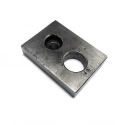 CNC 3D - Blocco di Supporto per Albero 50x71x15mm