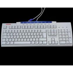 COMPAQ KB-9963 - Tastiera Bianco PS/2 Standard per PC
