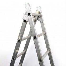 Scala Allungabile in Alluminio 8 Gradini per Lato