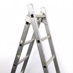Scala Allungabile in Alluminio 10 Gradini per Lato