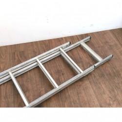 Scala Allungabile in Alluminio 13 Gradini per Lato