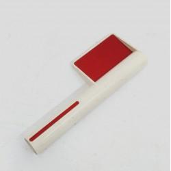 OEM - Segnale Catarifrangente in Plastica Bianco e Rosso - H 240mm