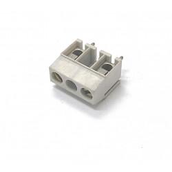 5x Omega Fusibili - Morsettiera Componibile PCB 24A 750V GRIGIO - 2-3 Poli