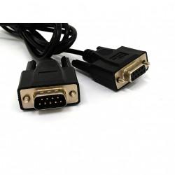 APC 940-0024D - Cavo Seriale per Sistema Smart UPS 300V 28AWG - M/F - L.1.90Mt - Nero