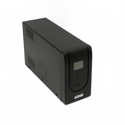 ENTRADE 1000VA - UPS Gruppo di Continuità 230Vac 50Hz Fuse 6A/250Vac - Nero