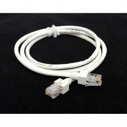 AMP 0-346750-5 - Cavo di Rete Ethernet Cat 5 UTP- 1Mt - Bianco