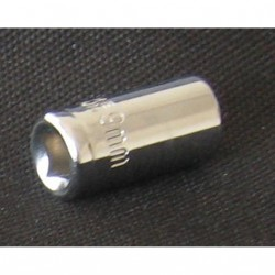 OEM - Chiave a Bussola con Attacco Quadrato - Mod. CHROME VANADIUM - 9mm