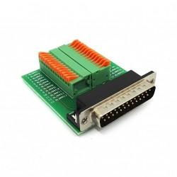 Adattatore VGA-Terminal Block 25 Pin Maschio