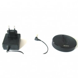 SONY AC-ES455K - Alimentatore + Base per BLUETHOOT TRASMITTER Mod. TMR-BT10 - Nero