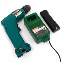 MAKITA 6017D/1 - Trapano Avvitatore D.10mm con Caricabatterie + 1 Batteria