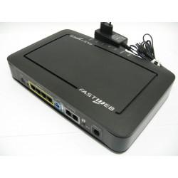 Modem Fastweb DRG A226M A-411-200-1-8 + Alimentatore