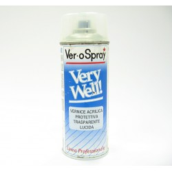 Bomboletta VeroSpray Very Well Trasparente Lucido 400ml