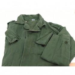 SANFOR - Giacca Militare Esercito Olandese 100% Cotone - Tg.M -Verde Militare