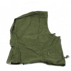 KL TC26.1180.11.8-Copricapo per Giacca Militare Esercito Olandese-100% Cotone-Verde Militare