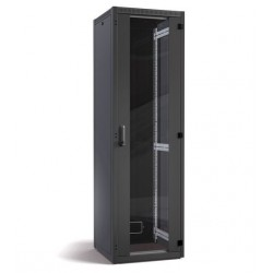 "Datwyler Cables DNRS - Armadio Server Rack 19"" con Porta in Vetro 42U - 600x800x2100mm - Nero"