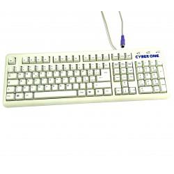 FCC K80100 - Tastiera Bianco PS/2 Standard per PC