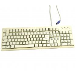 FCC KB-2001 - Tastiera Bianco PS/2 Standard per PC