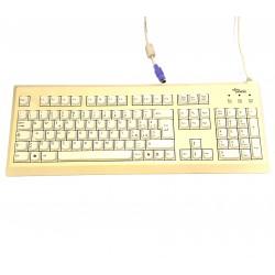 FUJITSU SIEMENS S26381-K397-V185 - Tastiera Bianco PS/2 Standard per PC