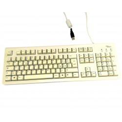 FUJITSU SIEMENS S26381-K361-L185 - Tastiera Bianco USB Standard per PC
