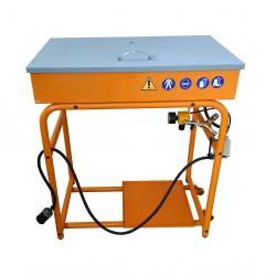 TOMES VIT5080 - Vasca Lavaggio Pezzi/Lavapezzi 80x50 50L - Pompa ad Aria Compressa