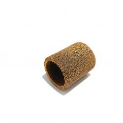 6x Filtri Cilindrico in Bronzo Silenziato Ø.Est 17.5mm