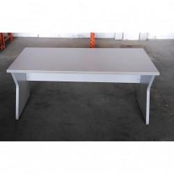 Scrivania Ufficio Dirigenziale 160x80x73cm - Grigio Chiaro - (Piedino Rovinato)