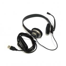 CONCEPTRONIC 1208009 - Cuffie/ Auricolari con Cavo 2M USB Entry