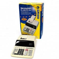 SHARP EL-2607PC - Calcolatrice Elettrica Stampante 12 DIGIT