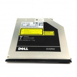 DELL TS-U633 - Ultra Slim 8X DVD+RW SATA Optical Drive 5V-1.3A 9.5mm