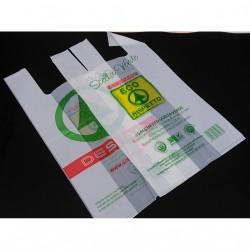 BAGHERRA - 630 x Shopper Biodegradabile Compostabile EN 13432 - 59x30CM