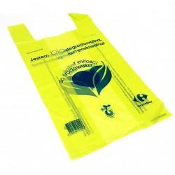 BAGHERRA - 380 x Shopper Biodegradabile Compostabile EN 13432 - 59x30CM