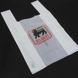 BAGHERRA - 150 x Shopper Biodegradabile Compostabile EN 13432 - 49x30CM