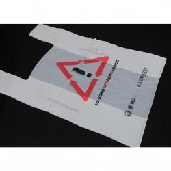 BAGHERRA - 160 x Shopper Biodegradabile Compostabile EN 13432 - 70x45CM