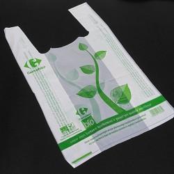 BAGHERA - 175 x Shopper Biodegradabile Compostabile EN 13432 - 49x30CM