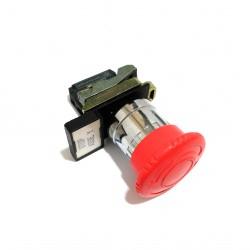 TELEMECANIQUE ZBE-102 - Blocco Contatto con Pulsante di Emergenza 3A 240V