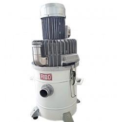 RIBO VS1.5-100 - Aspiratore/Aspiraliquidi Industriale 380V 1.5HP 25L IP55