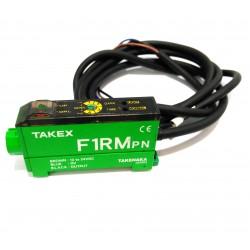 TAKEX F1RM-PN - Sensore Fibra Ottica 12-24VDC