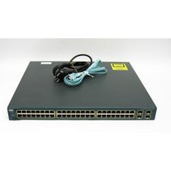 Cisco Catalyst 3560G - 48 Porte Ethernet POE Switch - Cavo di Alimentazione e Cavo Console