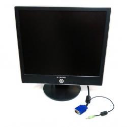 """HYUNDAI N71S - Monitor LCD 17"""" - Nero"""