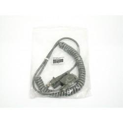 Datalogic - Cavo 425-1307 RS-232 per Serie Power Scan 9P-Femmina-Arrotolato Grigio