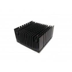 Dissipatore di Raffreddamento in Alluminio 52x52x28mm - Nero