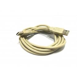 Cavo USB/FS E188601 28AWG/1P+20AWG/2C GRIGIO - 1.76M