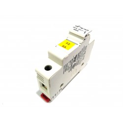 DF ELECTRIC 480032 - Portafusibile 1Poli PMF 10x38mm 32A 690V - Bianco
