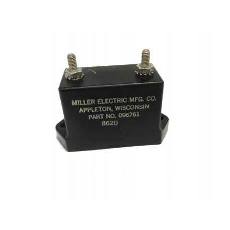 MILLER ELECTRIC 096761 - Condensatore 002UF 10000V Pannello MTG 78x31x45mm - Nero