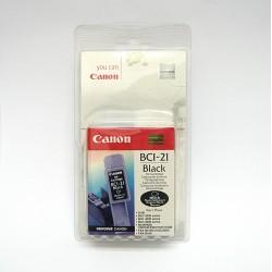 Cartuccia Canon BCI-21BK Nero