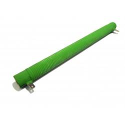 KRAH ELECTRONICS - Resistenza a Tubo di Ceramica 10Ω 100W ⌀.Est 21mm VERDE - 263mm