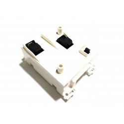 URMET TLC NMU711121 - Presa Telefonica Base con Connettore RJ11 - Bianco